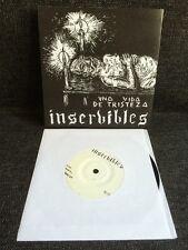 """Inservibles – Una Vida De Tristeza 7"""" Hardcore Punk Noise"""