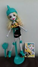 Monster High Doll . Lagoona Blue Roller Maze in original Clothes & Accessories.