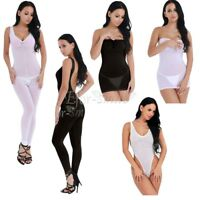 Women's Lingerie Mesh Dress Lady Babydoll Underwear Nightwear Sleepwear Bodysuit