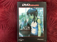 LAIN DVD SERIAL EXPERIMENTS CLOSE THE WORLD , TXEN EHT NEPO OPEN THE NEXT MANGA