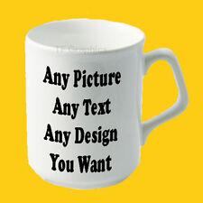 Design Your Own Custom Personalised Fluted Lip, Sparta 10oz Mug - Your Design