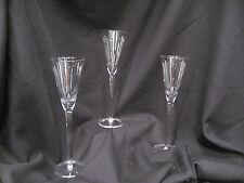glasses champaign plain set of three