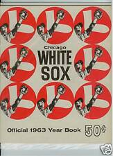 1963 CHICAGO WHITE SOX OFFICIAL MLB YEARBOOK