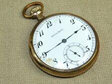 Vintage 1914 South Bend Pocket Watch Size 12s 19 Jewel Gold Filled