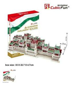 CubicFun Hungarian Parliament Building 3D Puzzle 237 Pieces (50cm×24cm×16.2cm),
