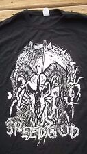 3XL Michigan Metal Band SPEEDGOD Shirt Kittie Bassist Heavy Black Speed Death