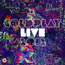Coldplay CD DVD Live 2012 5099901513721
