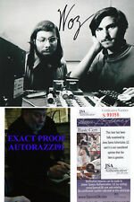"Steve Wozniak ""Woz"" Apple co-founder w/Steve Jobs JSA COA SIGNED 8x10 AUTOGRAPH"