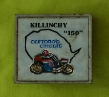 More details for 1970's killinchy 100 motorcycle bike badge pin