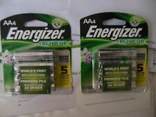 Energizer ® AA Qty 8 Recharge Universal Rechargeable Batteries ** Free  Shipping