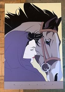 """""""Commemorative #13 (Horse and Lady)"""" by Patrick Nagel, 1987 Serigraph NC13"""