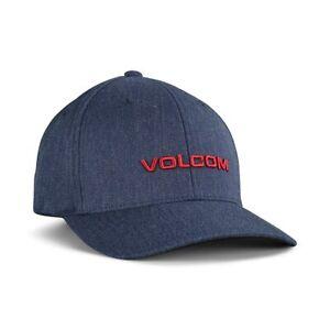 Volcom Euro XFit Flexfit Cap - Navy