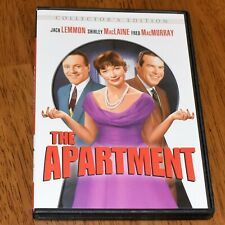 The Apartment 1960 Comedy Jack Lemmon Shirley MacLaine Collectors Edition Dvd
