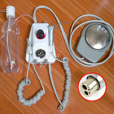 AU Dental Lab Portable Turbine Unit M4 Air Turbine Compressor with 3 Way Syring
