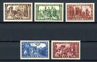 Saarland MiNr. 299-303 postfrisch MNH (Q603