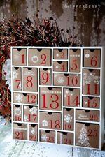 Silhouette Wood Shadow Box Advent Calendar White Limited Edition DIY