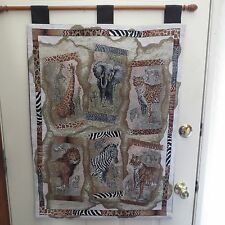 Lined African Hanging