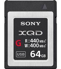 64GB Sony XQD QDG64E/J Memory Card