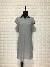 Old Navy Grey Pique Polo Dress