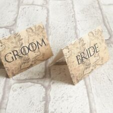 Game Of thrones Wedding Place Name Cards - Set Of 10, GOT