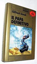 clifford simak IL PAPA DEFINITIVO nord oro ( 1983) cartonato 1 EDIZIONE