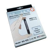 Micro Digital Voice Recorder MQ-62N Voice Operation System, Spy Hidden *1GB