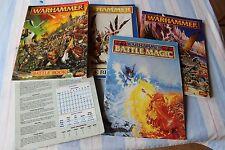 Games Workshop Warhammer Fantasy Rulebooks Rules Books Job Lot Magic 1990s OOP