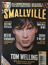 SMALLVILLE MAGAZINE 4 Tom Welling Christopher Reeve Allison Mack Jensen Ackles