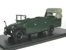 AutoCult 12004, 1950 Hanomag L28 Gruppenkraftwagen GruKW Polizei, oliv, 1/43