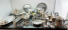 More details for a large job lot of antique/vintage silver plated items with many makers names.