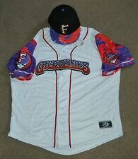 Fresno Grizzlies Grateful Dead Baseball Jersey + New Era 59FIFTFY Fitted Hat
