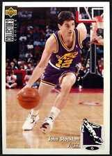 John Stockton Jazz #97 Collectors Choice 1995-6 NBA Basketball Sticker (C1253)