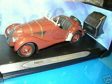 1/18 RICKO - 1936 BMW 328 ROADSTER Marrone