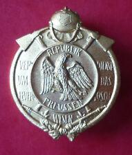 Ordine, Vigili fuoco, Al valore il Feuerloeschwesen der Repubblica Prussia 1925