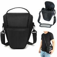 Digital DSLR SLR Camera Shoulder Strap Case Waist Bag For Canon Nikon New