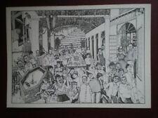 POSTCARD WILLIAM RUSHTON - AT TAYLOR'S QUINTA DE VARGELLAS 1985 VINTAGE -