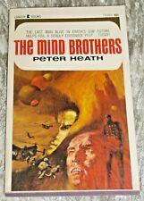 Peter Heath, THE MIND BROTHERS, Vintage 1967 Science Fiction Paperback Novel