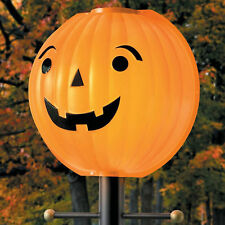 Halloween Pumpkin Lamppost Jacko Lantern Lampshade Cover Halloween Decor