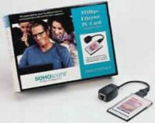 SOHOware PCMCIA Ethernet LAN Notebook PC Card ND5120 NEW in Box