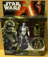 Star Wars The Force Awakens First Order Stormtrooper Armor Up Figure NEW NIB
