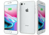 New Overstock Apple Iphone 8 256 gb Silver GSM Unlocked for ATT and T-Mobile