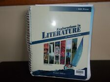 Explorations in Literature for Christian Schools Teachers Edition 2nd Edition