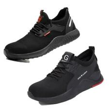 UK Mens Steel Toe Safety Shoes Trainers Work Boots Sports Hiking Sneakers 7-12
