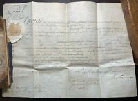 KING GEORGE III & the Earl of Shelburne, Signed Commission 1782
