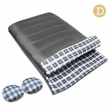 Camping Thermal Winter Grey Sleeping Bag 10°c 220 x 145cm