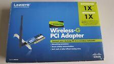 Linksys Wireless-G PCI Adapter Model: WMP54G Brand New In Box