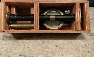 Antique 1950's era Gordon Roberts Navigation Nautical Compascope Type B