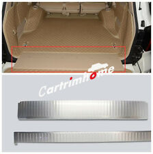 Inner Rear Bumper Guard Plate Trim 2pcs for Toyota Land Cruiser LC200 2008-2016