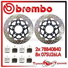 Dischi Freno Anteriore BREMBO + Pastiglie SINTER LA KAWASAKI ZX-6R 636 2005 2006