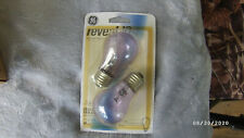 2 GE 48696 Reveal Ceiling Fan Light Bulbs 40 Watt Vibration Resistant